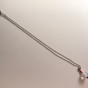 Jewelry - Necklace with decorative marble
